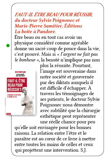 Diktats de l'image et du paraître magazine Coté Santé N°94 – Mai-Juin 2015